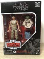 Star Wars Black Series ESB 40th 6 Inch LUKE SKYWALKER & YODA New in Box