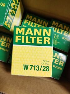 Engine Oil Filter MANN W 713/28 Land Rover Discovery 1 Freelander 1 L314