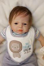 Realistic Handmade Reborn Baby Doll Girl Boy Newborn Lifelike Soft Vinyl 22''