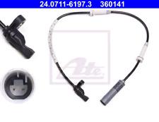 ABS Sensor fits BMW 325 E90 Rear 3.0 3.0D 06 to 11 Wheel Speed Bosch 34526762476