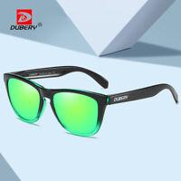 DUBERY Men Women Polarized Sunglasses Outdoor Driving Fishing Sport Glasses