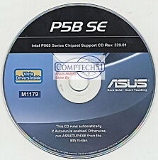 ASUS GENUINE MOTHERBOARD SUPPORT DISK P5B SE M1179