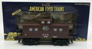 American Flyer 6-48725 S Scale New York Cantal Lighted Caboose #17560 EX/Box