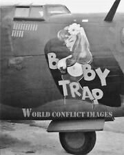 USAAF WW2 B-24 Bomb Booby Trap 8x10 Nose Art Photo WWII