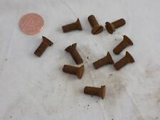 Panther motorcycle part Velo Vincent Scott, 5/16th Whitworth countersunk screws