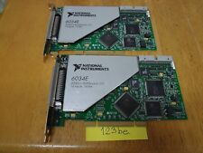 NI PCI-6034E card with 16 Ch, 200 kS/s, 16-Bit, 8 DIO, 2 24-Bit Counter