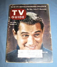 VINTAGE TV GUIDE NOVEMBER 14 1959 PERRY COMO JOHN F KENNEDY JULIE HARRIS