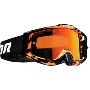 Thor Cecchino Pro Motocross Mascherina Rampante Arancione/Nero