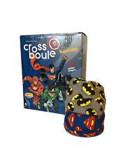 Noris Games 601105089 Set: Crossboule game Batman vs Superman Justice League New