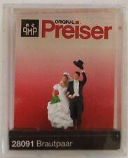 Preiser 28091 Wedding Couple 00/H0 Model Railway Figures
