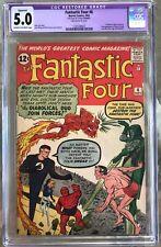 Fantastic Four #6 (1962) CGC 5.0 - 1st Marvel villain team-up; 2nd Doom restored