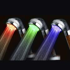 RC-9818A Three-color LED Temperature Control Shower Head Intelligent