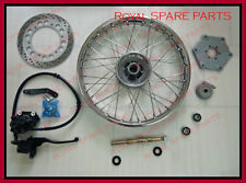 Royal Enfield Complete Front Wheel Disc Brake Model With Disc Brake Kit Assembly