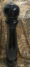 16-Inch Tall Professional Pepper Mill Grinder Black Lacquer for repair/ parts