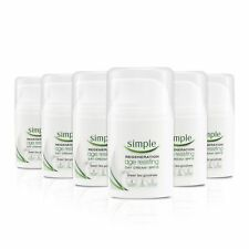 Simple Regeneration Age Resisting Day Cream SPF 15 50 ml - Pack of 6