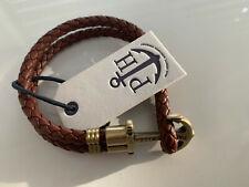 Paul Hewitt Anker Damen-Armband braun Gr.M