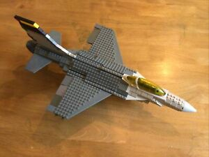 MEGA BLOKS PRO BUILDER SET 9764- TACTICAL FIGHTER Plane -Not Complete