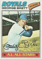 George Brett 1977 Topps #580 Baseball Kansas City Royals Card