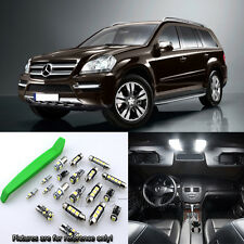Super White 21pc Interior LED Light Kit for 07-12 Benz GL-Class X164 + Free Tool