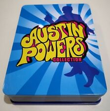 RARE Austin Powers Collection Steel Case DVD 2010 3-Disc Set Box set LTD EDITION