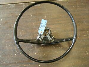 OEM 1957 Plymouth Steering Wheel Black Fury Belvedere