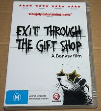Exit Through The Gift Shop: A Banksy Film (DVD, 2010) Region 4