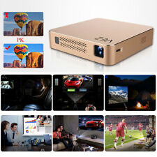 Bluetooth Mini Portable Wifi Pocket LED DLP Miracast Theater Projector HD 1080P