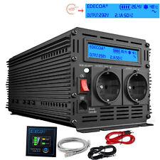 2500W 5000W Convertitore 24V 220V 230V Onda sinusoidale pura Power inverter LCD