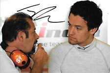 Jolyon Palmer firmato, F1 Force India Ritratto ABU DHABI YAS MARINA test 2014