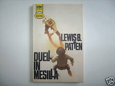 LEWIS PATTEN DUELL IN MESILLA +