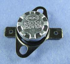 Thermostat:KSD301-B145 145ºC : 293ºF : N.C. NC:Temperature:BiMetal Switch