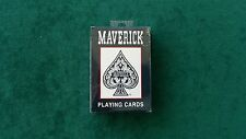 ONE DECK OF MAVERICK PLAYING CARDS COMES IN BLACK PACK BRAND NEW PLASTIC