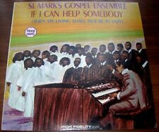 St Marks Gospel Ensemble  If I Can Help Somebody 1968 Veep13525 33 rpm Vinyl  LP