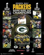 Green Bay Packers Super Bowl 45 Championship Picture Plaque