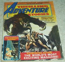Thrilling Adventure Stories 2, NM- (9.2) Neal Adams Bare Breast & Nipple Cover!