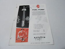 VINTAGE CATALOG #2408 - AUSTIN CRAFT MODEL AIRPLANE SUPPLIES