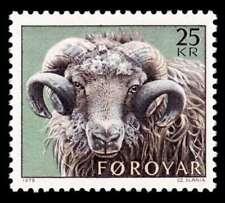 Faroe Islands 1979, Animals, Sheep, Ram, MNH / UNM