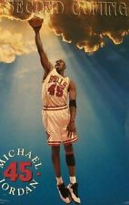 """Michael Jordan 1995 Costacos Poster """"The Second Coming"""" 23x35 - NEW SEALED"""