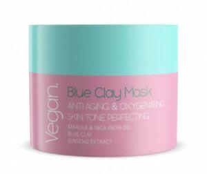 NACOMI Vegan Blue Clay Mask Anti Aging and Oxygenating 50ml.