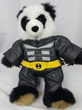 Batman Build A Bear Panda Plush The Dark Knight Outfit
