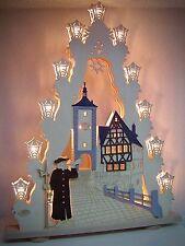2D Arc Arc lumineux lichterspitz 52 x 67cm 15 LUMIÈRES veilleur 10714