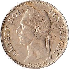 1923 Congo (Belgian) 50 Centimes Error Coin Multiple Die Cracks KM#22