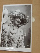 Postcard Actress Marie Studholme Rotary Real photo posted 1904 xc3