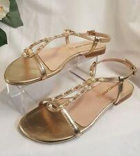 38 Sandali e scarpe in oro per il mare da donna