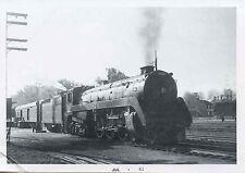 7D400D RP 1958 CANADIAN PACIFIC RAILROAD ENGINE #2820 TROIS RIVIERES PQ