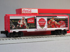 LIONEL COCA COLA VINTAGE SANTA BOXCAR O GAUGE train coke pop holiday 6-84614 NEW
