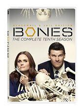 Bones Tenth 10th Season 10 Ten DVD Set Complete Series TV Show David Boreanaz R1