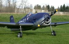 "1/5  Scale WWII  F6F Hellcat  96"" Giant Scale RC Model AIrplane Printed Plans"