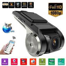 2MP 1080P HD Car DVR Camera Video Recorder GPS ADAS G-sensor Dash Cam Recording