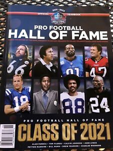 2020 2021 PRO FOOTBALL HALL OF FAME YEARBOOK INDUCTEES WITH CENTENNIAL CLASS